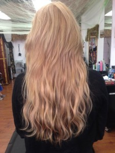 Hair Extensions - After