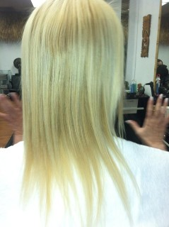Hair Extensions - Before