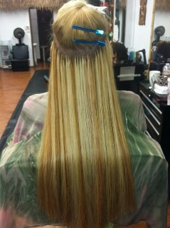 Hair Extensions - In Progress